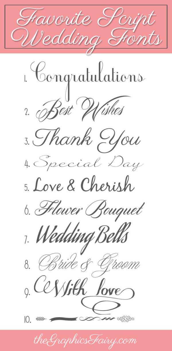 free wedding fonts # 7