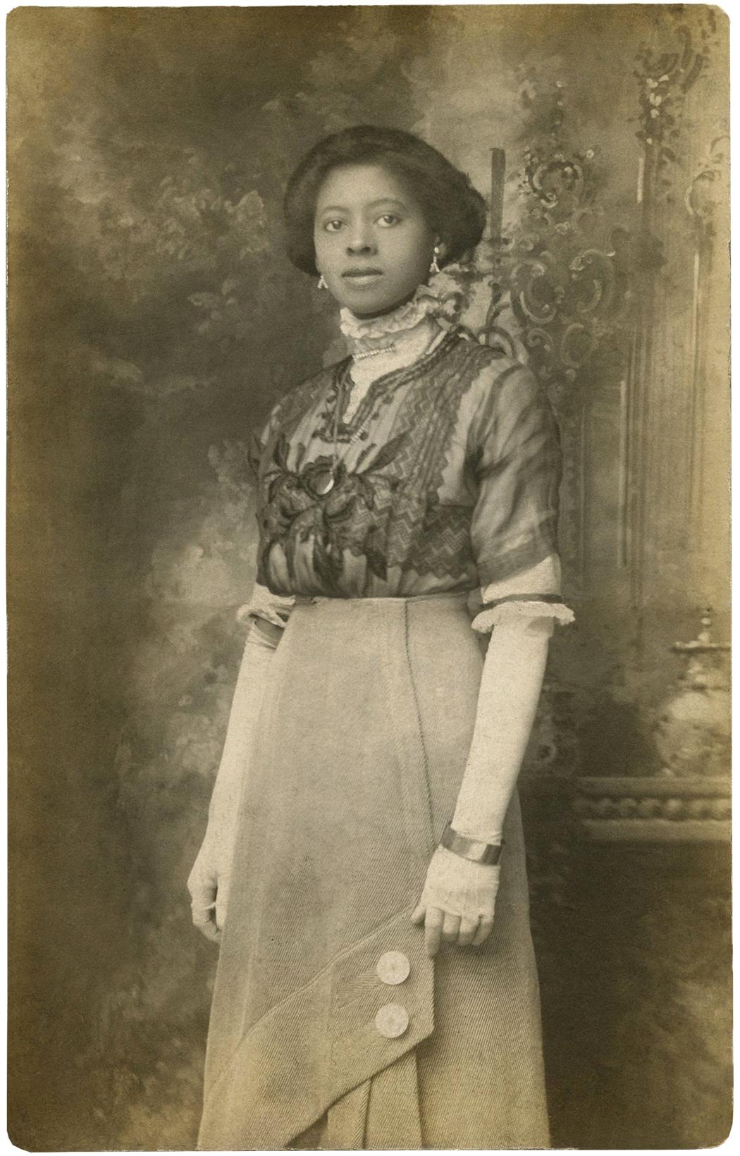 Beautiful Black Edwardian Lady