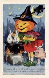 halloween pumpkin witch cute graphics thegraphicsfairy card