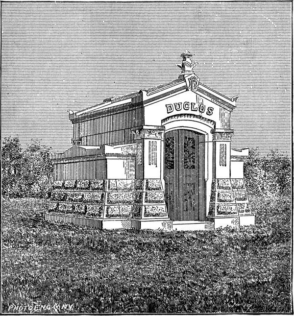 Vintage Mausoleum Clip Art - Spooky Graphics Fairy
