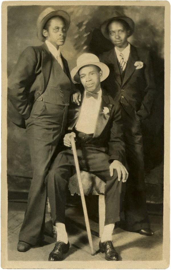 Vintage African American Men - Graphics Fairy