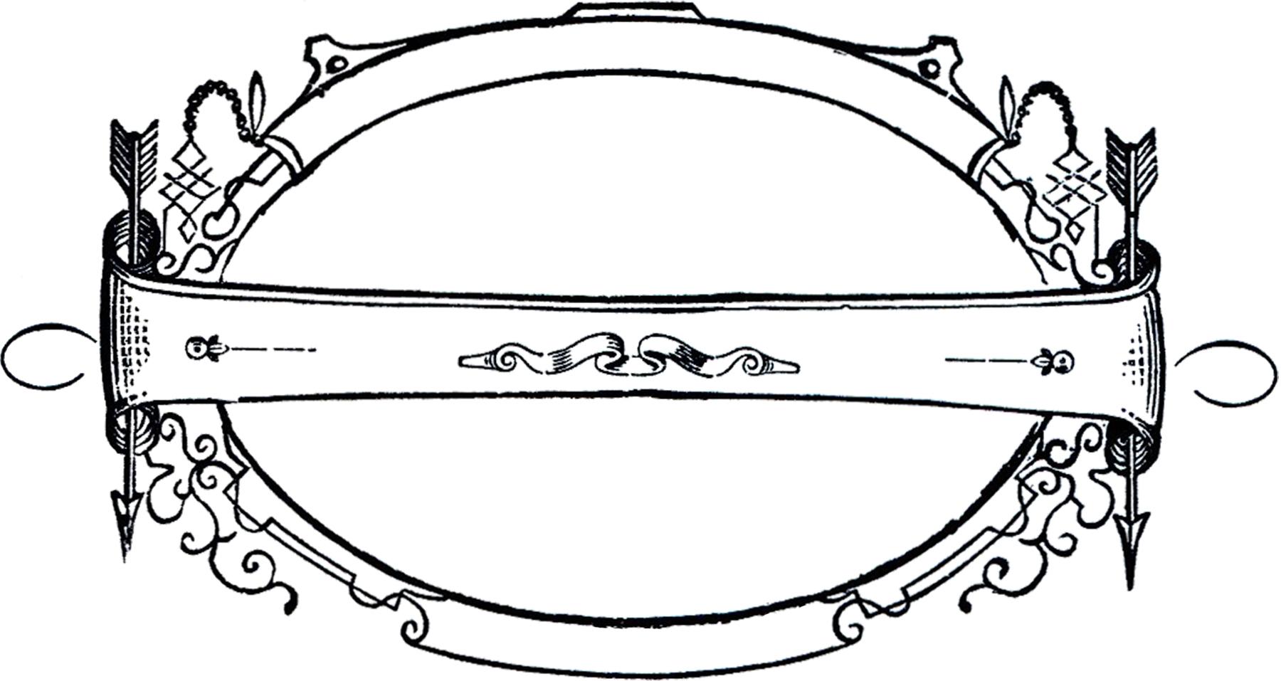 Vintage Arrows Frame Image