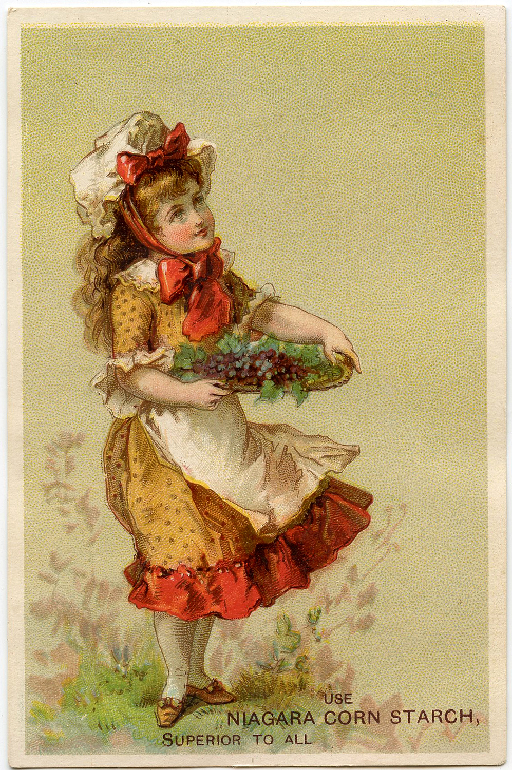 Vintage Grapes Girl Image The Graphics Fairy