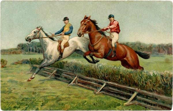 Vintage Horse Racing