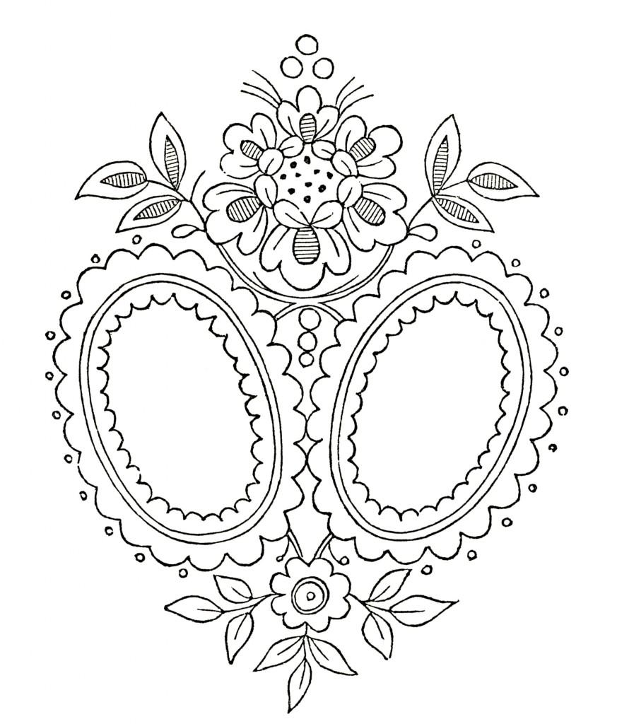 monogram sewing