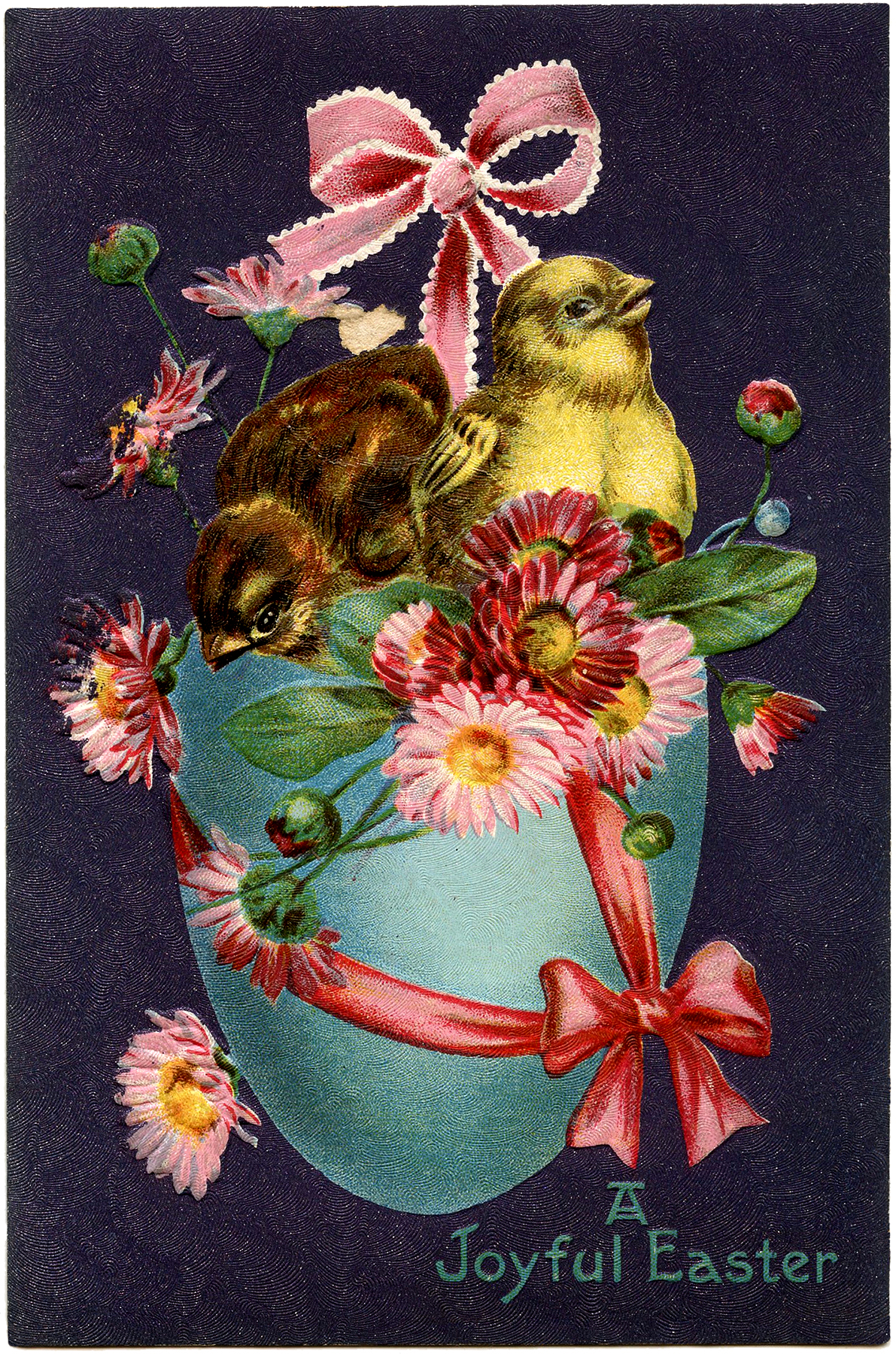 Vintage Easter Stock Image Super Pretty The Graphics