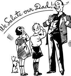 fun father s day clipart [ 1800 x 1706 Pixel ]