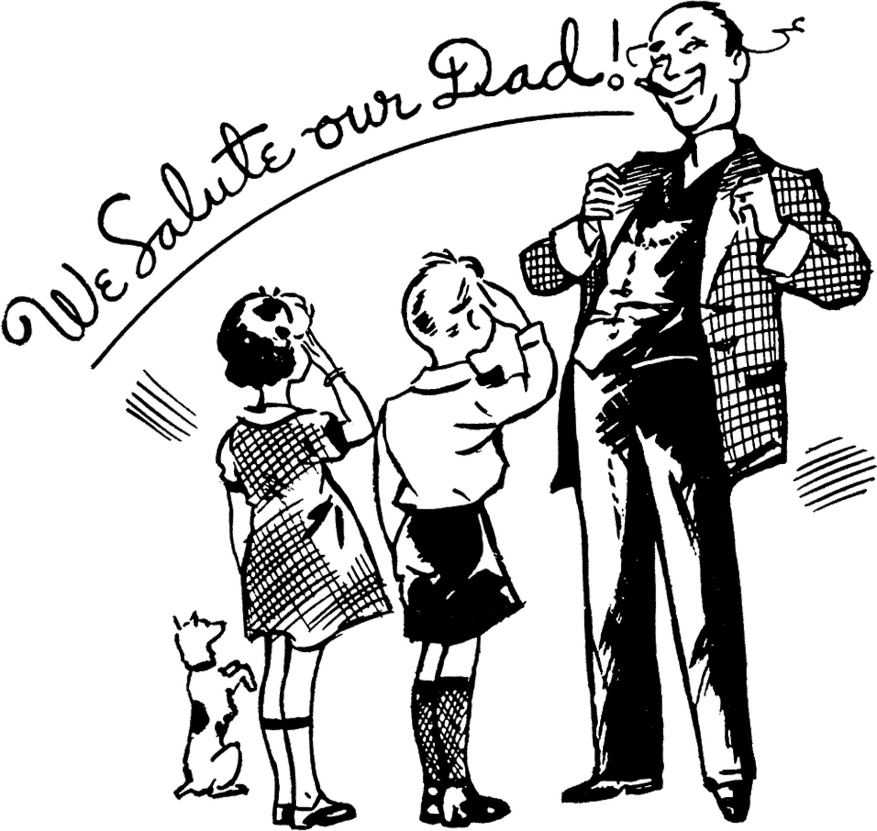 hight resolution of fun father s day clipart