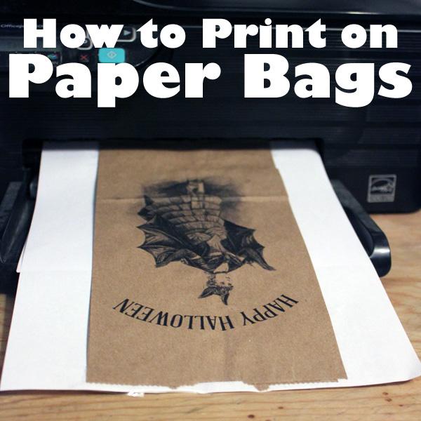 paper bag flower craft