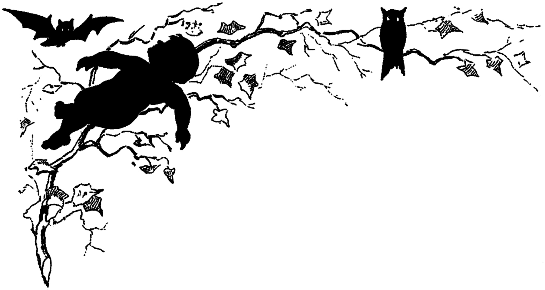 Halloween Silhouette Image