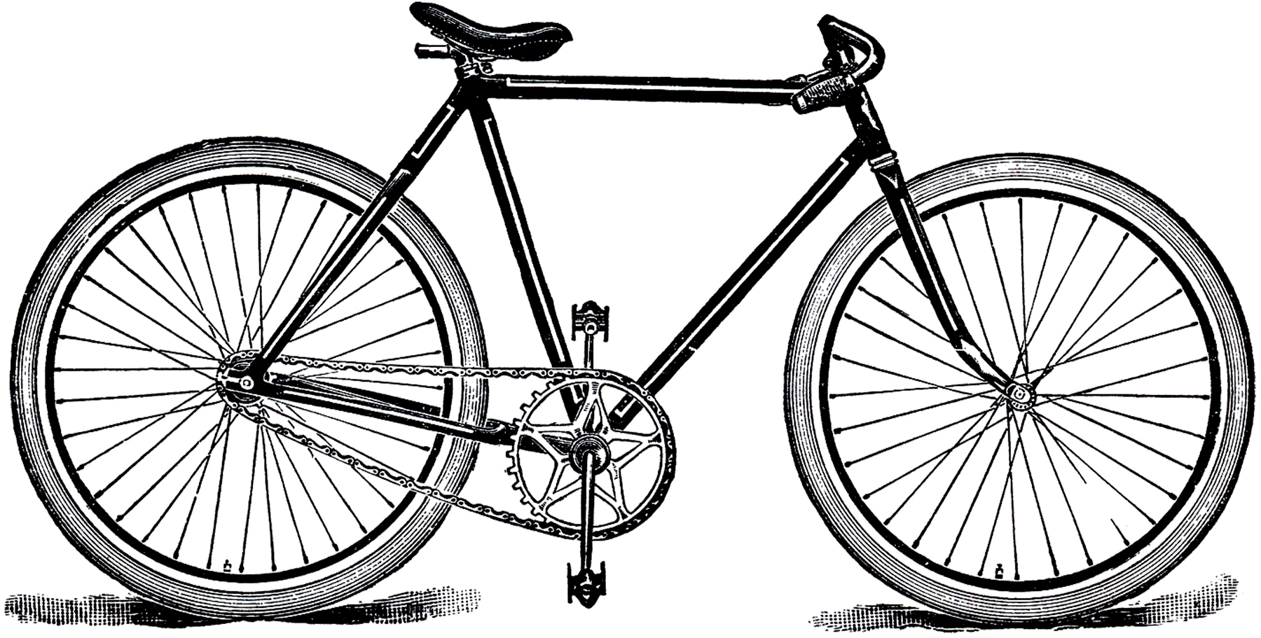 Free Public Domain Bicycle Image