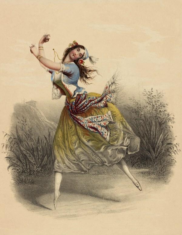 Vintage Gypsy Ballerina