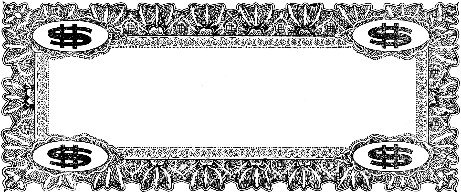 Vintage Coupon Frame Image The Graphics Fairy