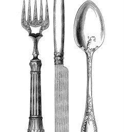7 free fork and spoon clipart [ 983 x 1600 Pixel ]