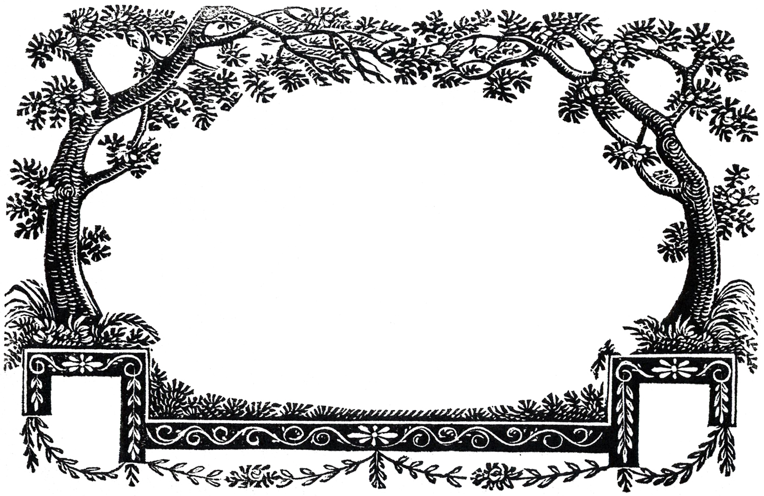 11 Nature Themed Clipart Frames