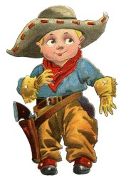 cowboy clip cute boy graphics clipart fairy cowboys cow lil cartoon cowgirls wallpapers children cards anime theme cliparts graphic wisdom