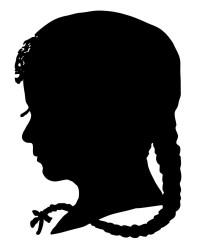 silhouette clip boy silo graphics fairy
