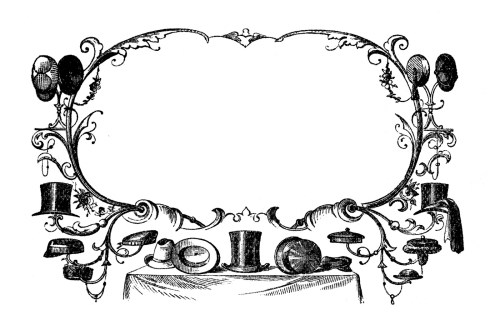 small resolution of vintage advertising clip art victorian hats
