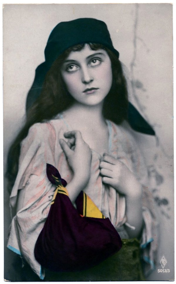 Beautiful Vintage Gypsy Woman