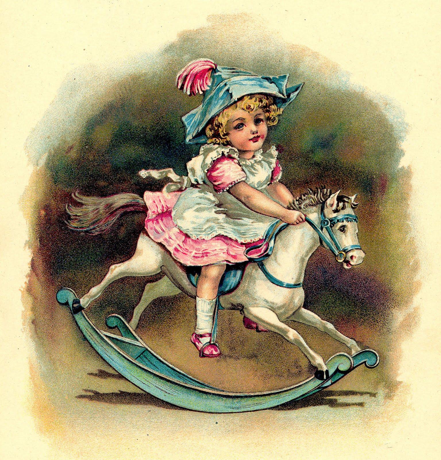 Vintage Nursery Rhyme Printable
