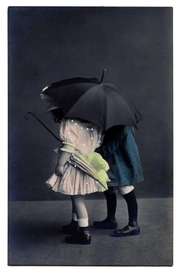 Vintage Umbrella Clip Art