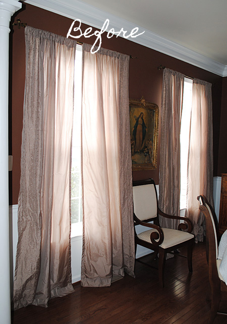 curtains for my living room bay window treatment ideas new the dining graphics fairy i ve had these silk blend in awhile and ever since redid been wanting to change them out