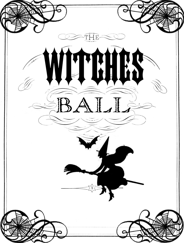 Vintage Halloween Printable