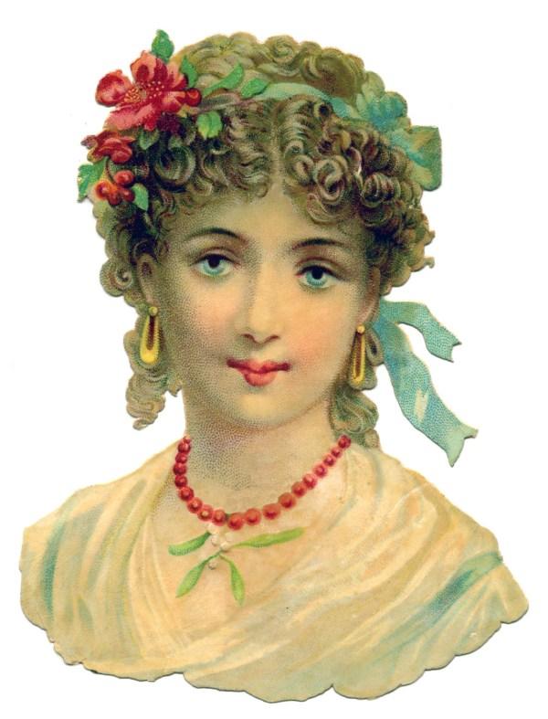 Vintage Victorian Women Graphics