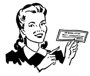 retro money clip moms mom graphics check