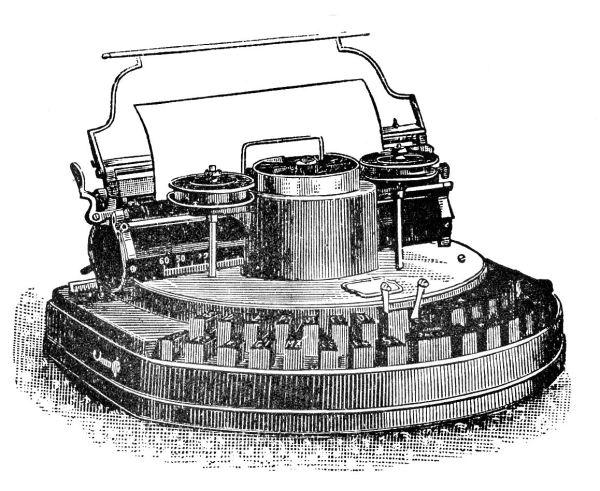 free vintage clip art - typewriters