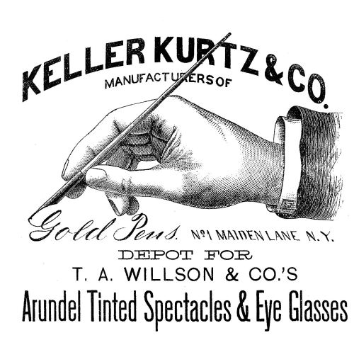 small resolution of victorian clip art hand with pen advertising