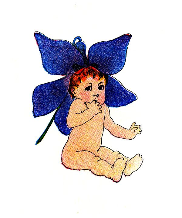 Flower Fairy Clip Art