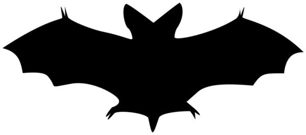 free halloween clip art - bat
