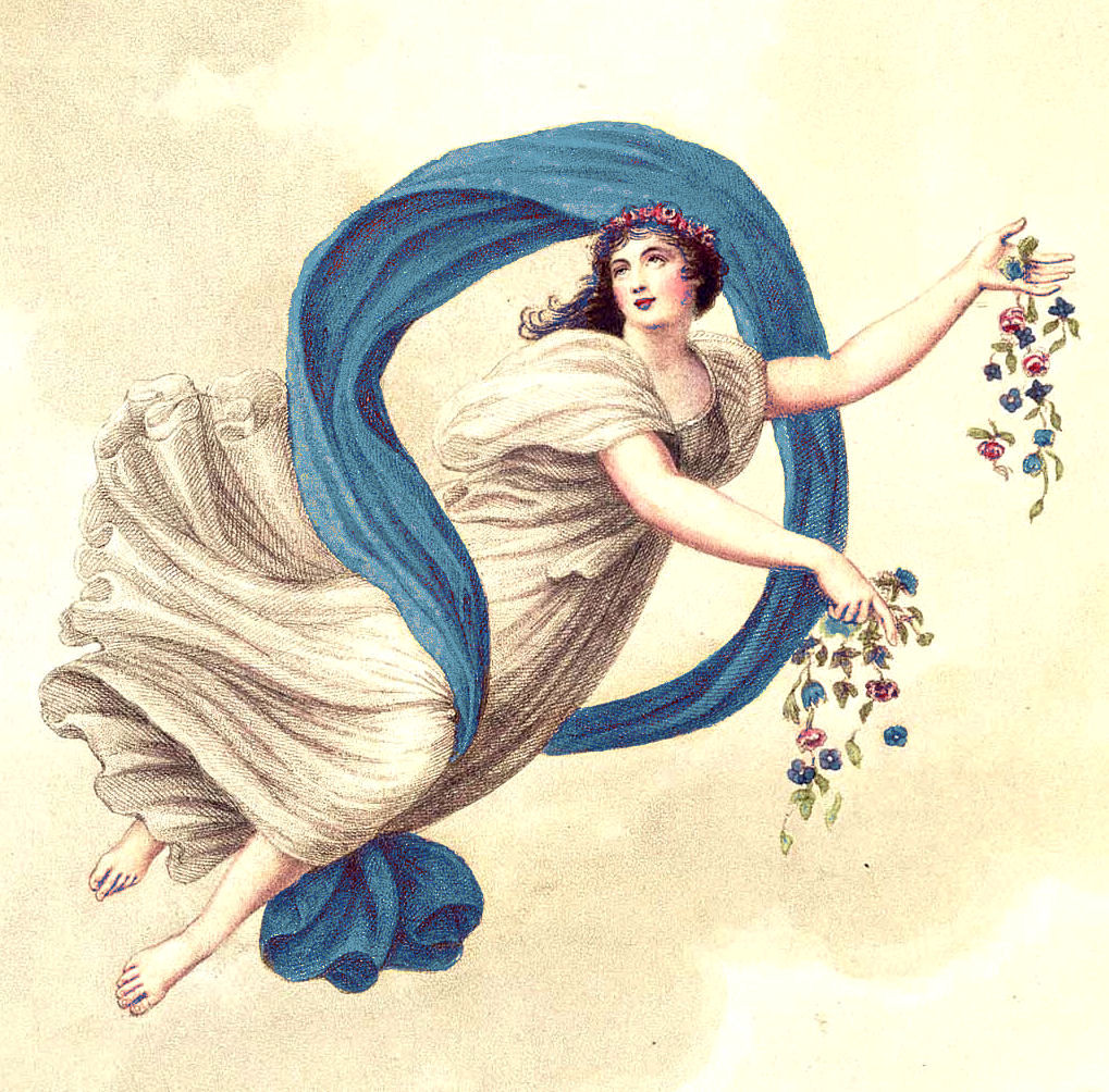 Free Vintage Clip Art Beautiful Goddess The Graphics Fairy