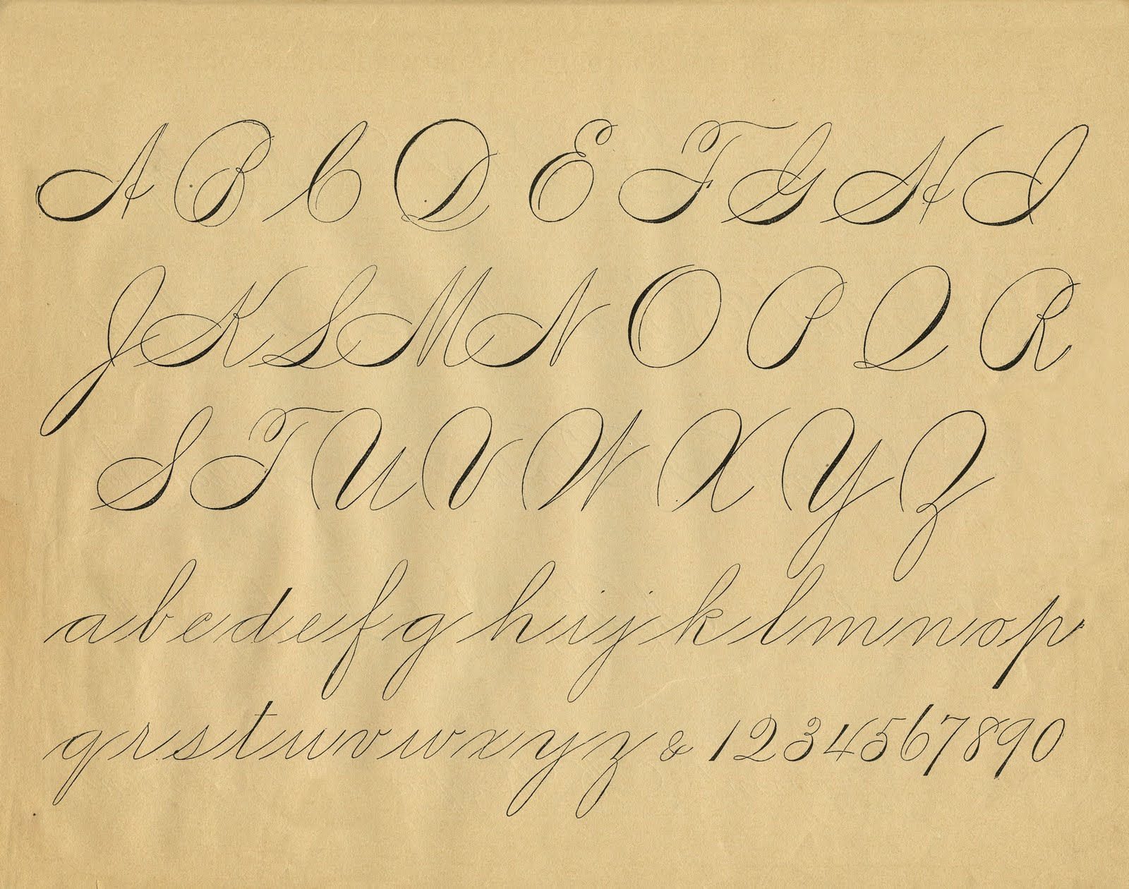 Where Can You Find Examples Of Victorian Handwriting For