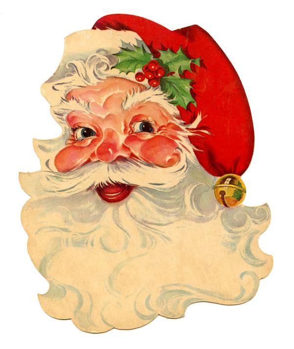 free vintage clip art - santa