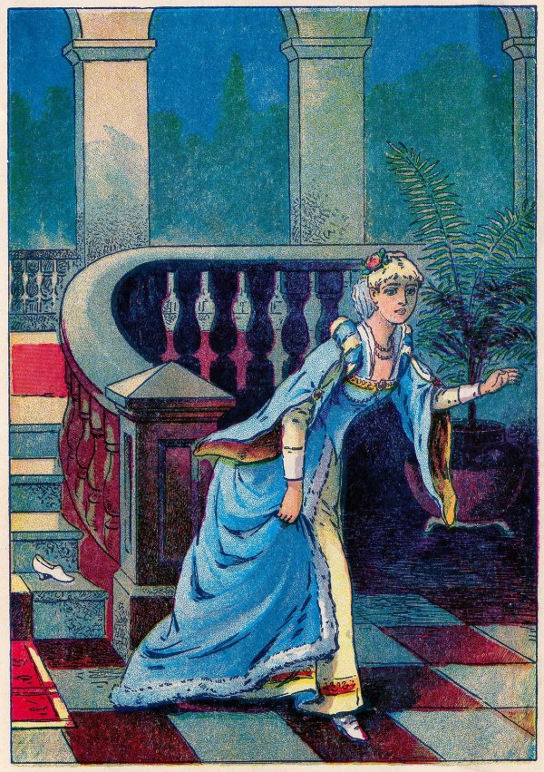 Cinderella Fairy Tale Illustrations Vintage