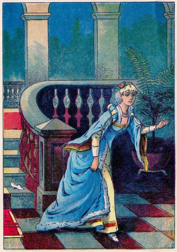 Vintage Fairy Tale Clip Art - Cinderella Part 2 Graphics