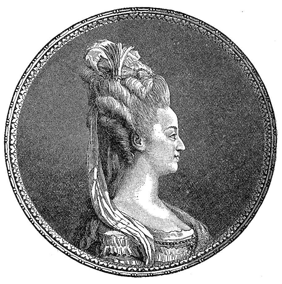 Free Vintage Clip Art Marie Antoinette The Graphics Fairy