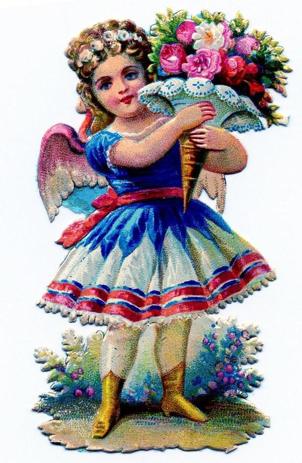 Little Girl Fairy Clip Art
