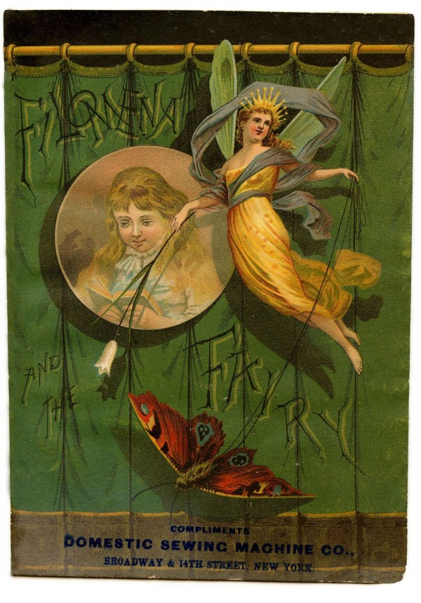 Beautiful Vintage Fairy Art