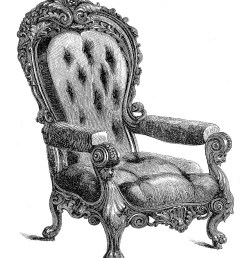 today i m sharing these 2 clip art images of some very ornate chairs the chairs were made in vienna they come from an old 1850 s catalog  [ 1329 x 1600 Pixel ]