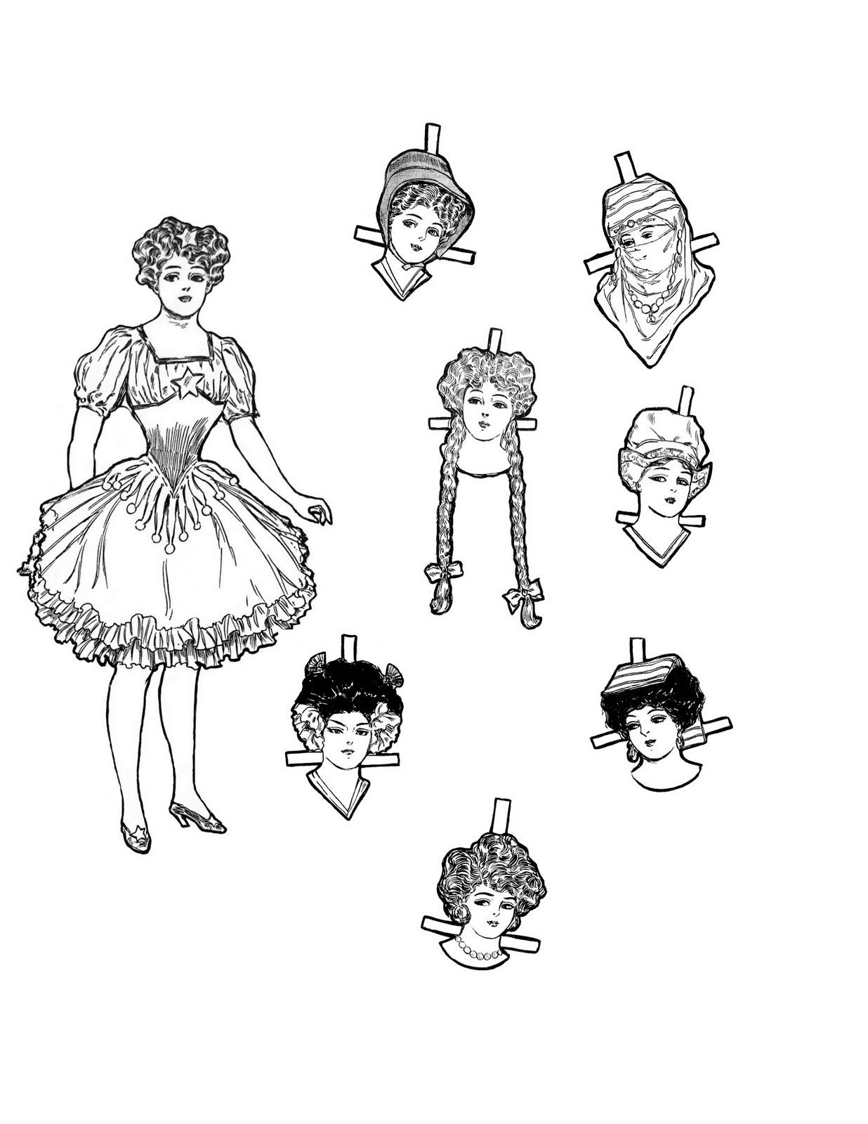 Vintage Kids Printable