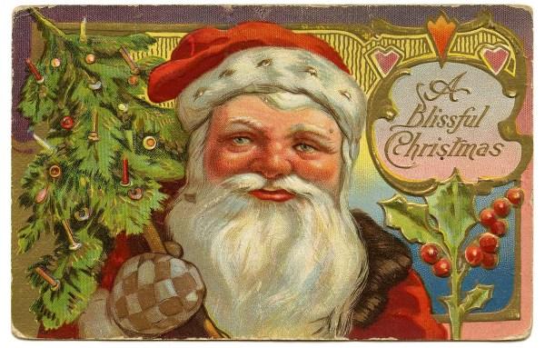 vintage christmas clip art - victorian