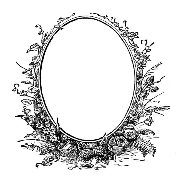 antique ephemera clip art - printable
