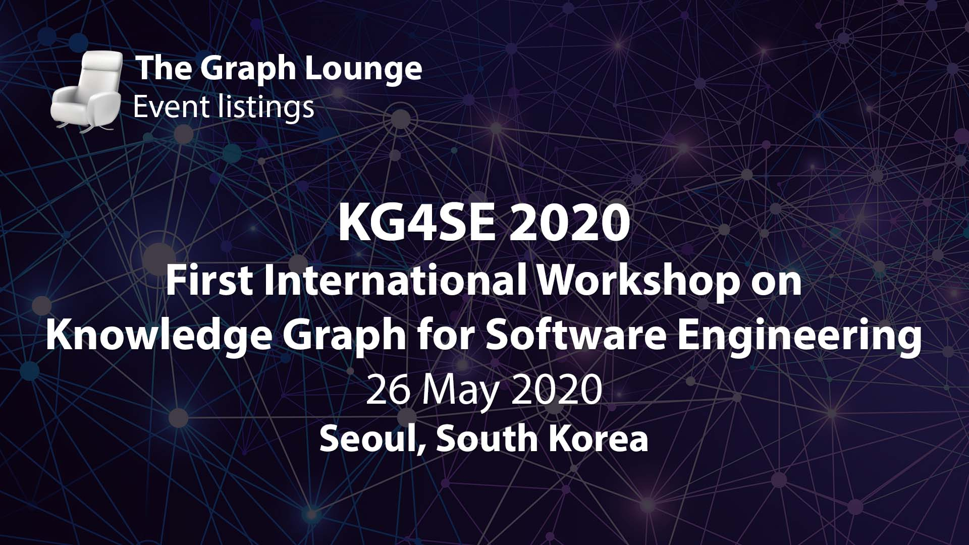 KG4SE 2020 (First International Workshop on Knowledge Graph for Software Engineering)