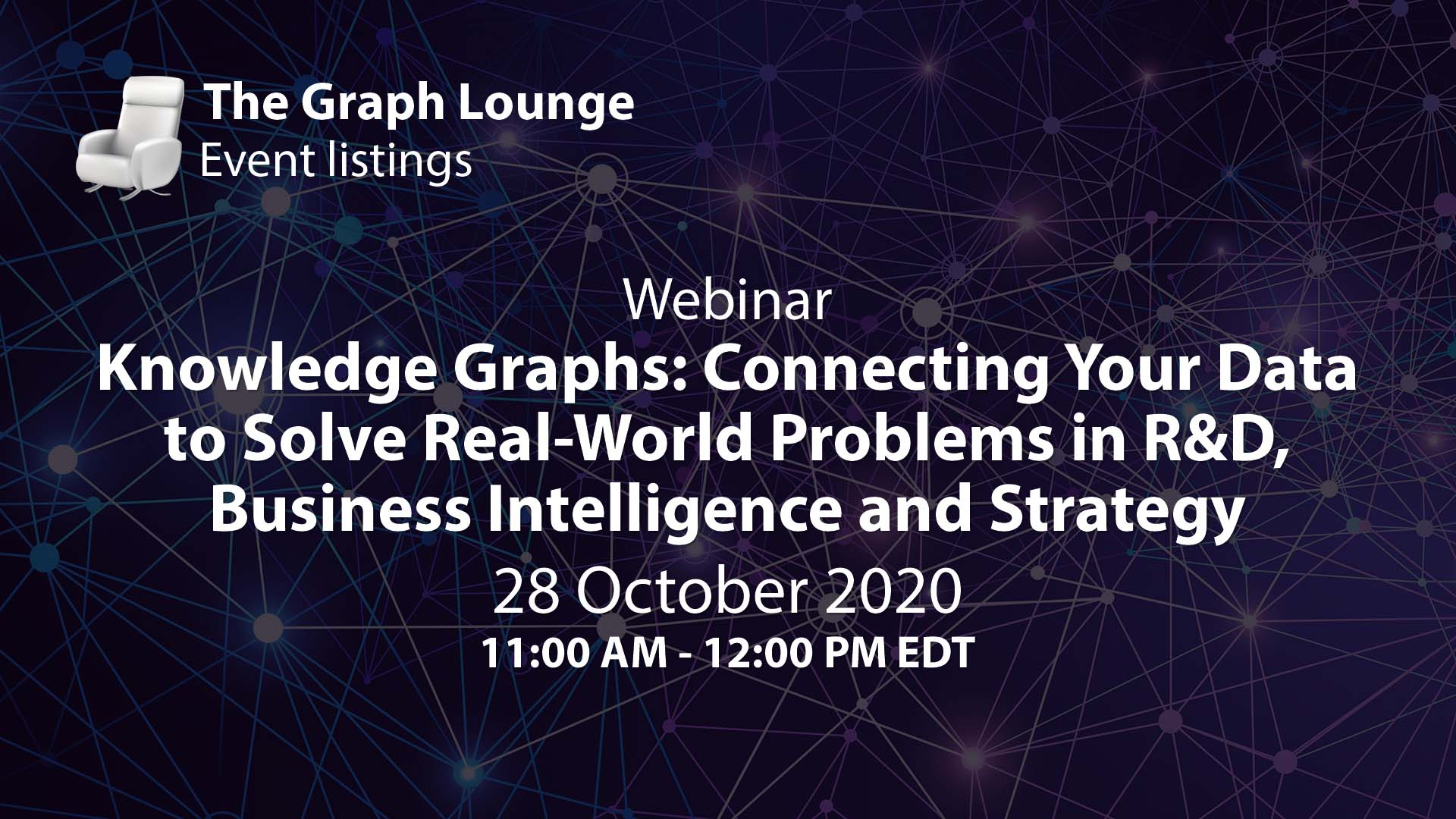 Knowledge Graphs: Connecting Your Data to Solve Real-World Problems in R&D, Business Intelligence and Strategy