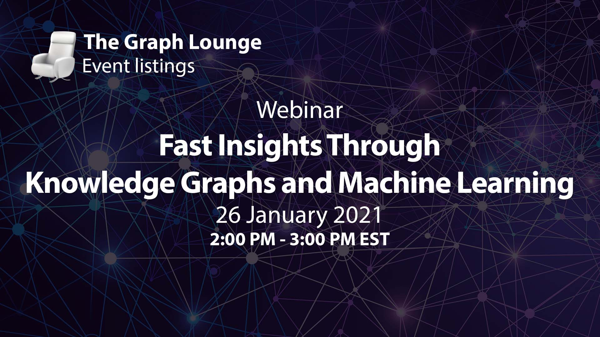 Fast Insights Through Knowledge Graphs and Machine Learning