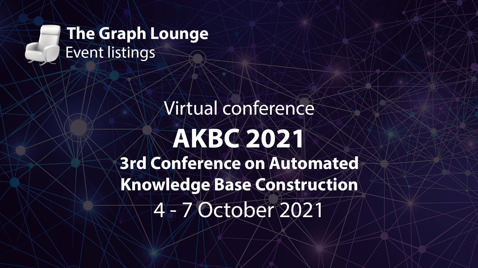 AKBC 2021 (3rd Conference on Automated Knowledge Base Construction)