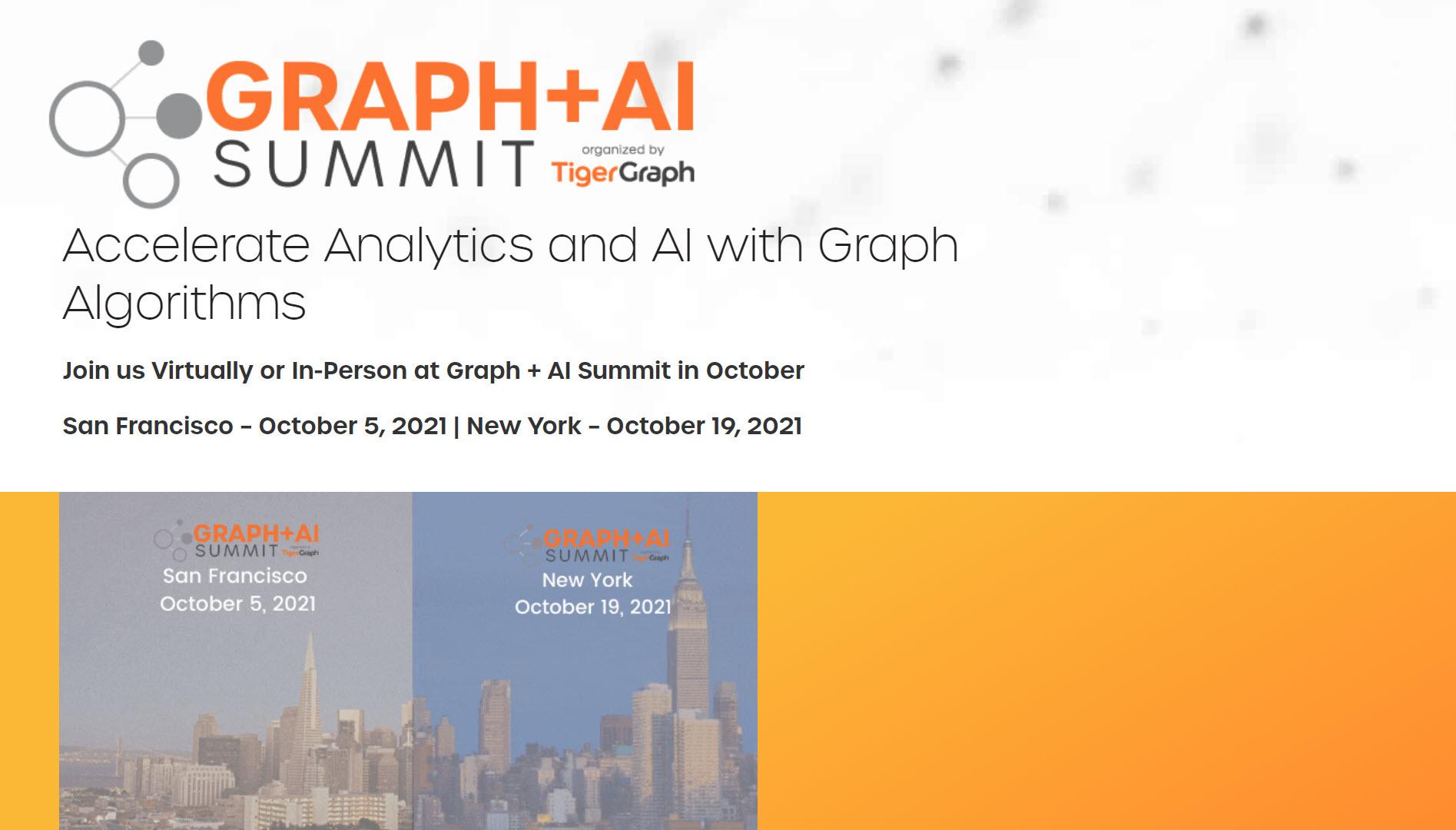 Graph + AI Summit Fall 2021